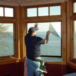 heat blocking window film fixing