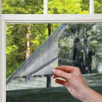 glass window stickers for cooling and light reducing