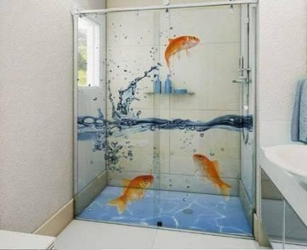 bathroom glass film design in chennai