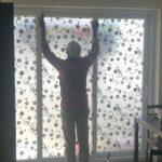 full glass door privacy