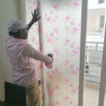sliding door tinting sticker