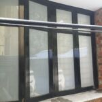 window white frosted film tinting