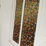 Cooling glass sticker