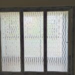 Semi frosted window film