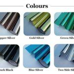 Reflective sun control film chennai colors available